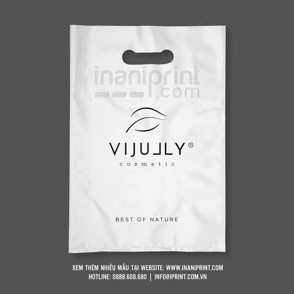 Bao xốp mỹ phẩm Vijully, túi nilong mỹ phẩm Vijully
